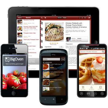 iPad, iPhone, Android, Windows Phone Free Recipe Software