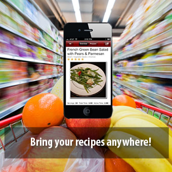 Bring your recipes anywhere!